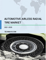 Automotive Airless Radial Tire Market by Application and Geography - Forecast and Analysis 2021-2025