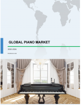 Piano Market by Product and Geography - Forecast and Analysis 2020-2024