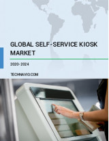 Self-service Kiosk Market by End-user and Geography - Forecast and Analysis 2020-2024